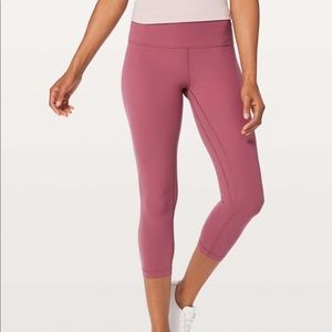 "NWT Lululemon Align Crop 21"" High Rise-Size 8"